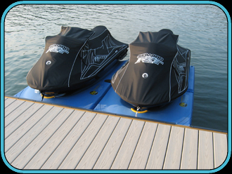 Hydrohoist jetski air lifts